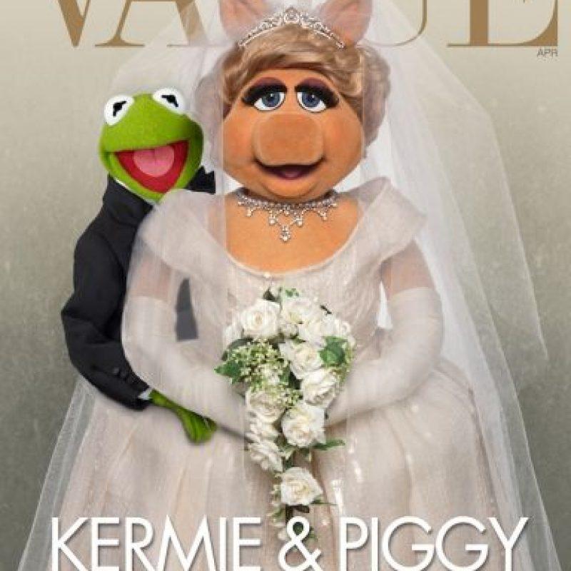 """El 4 de agosto, la famosa pareja del show infantil """"Los Muppets"""" se separó luego de tres décadas de feliz relación. Foto:vía facebook.com/MuppetsMissPiggy"""