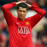 2008 – Ganó su primer Balón de Oro y la Champions League con el Manchester United. Foto:Getty Images
