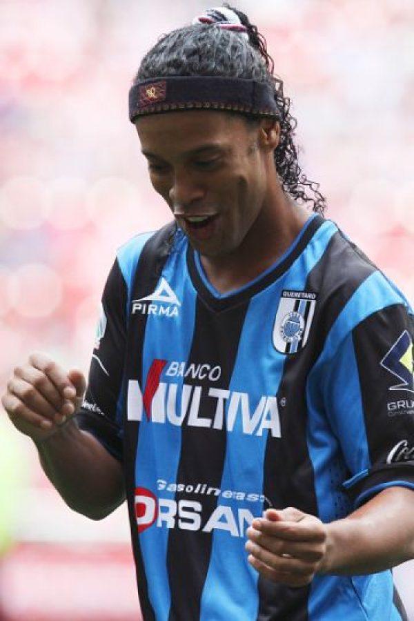 Debutó profesionalmente en 1998, con el Gremio de Porto Alegre. Foto:Getty Images