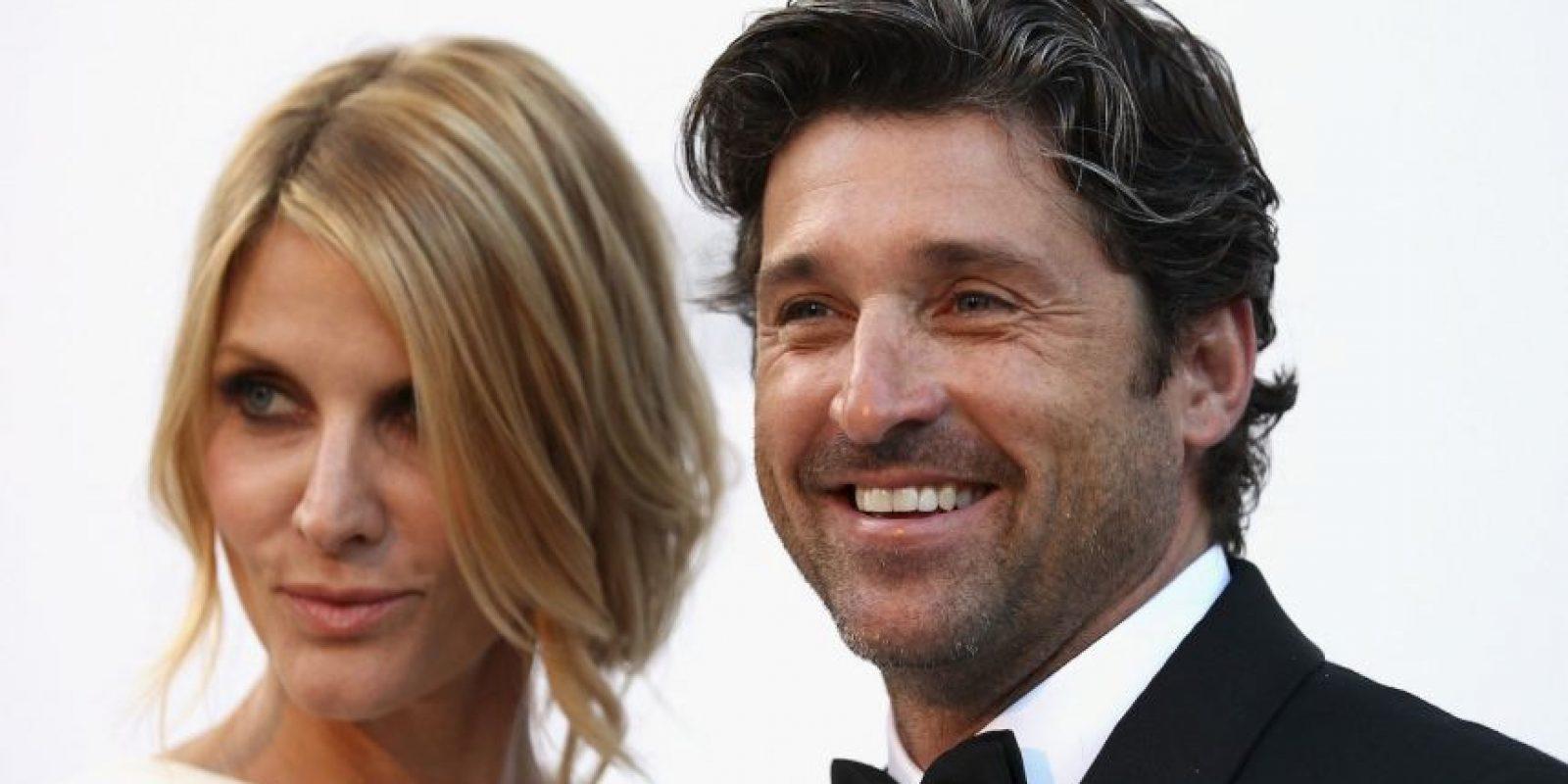 """Luego de 15 años de matrimonio y tres hijos en común, en enero el actor de """"Grey's Anatomy"""" anunció su divorcio de Fink. Foto:Getty Images"""