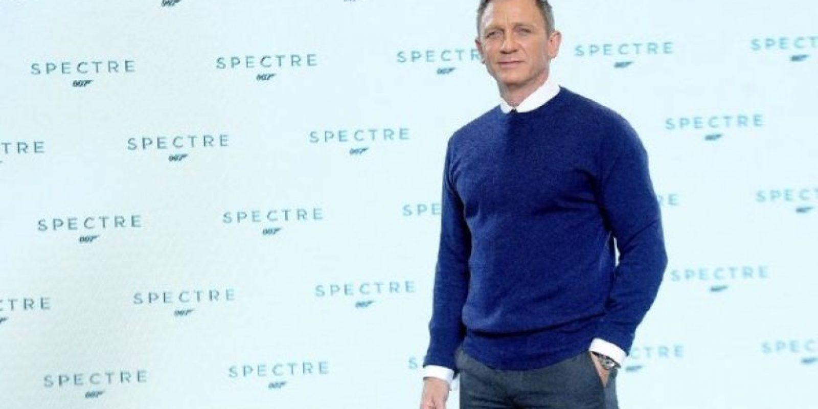 """Daniel Craig está listo para abandonar el papel de """"James Bond"""" Foto:IMDb"""