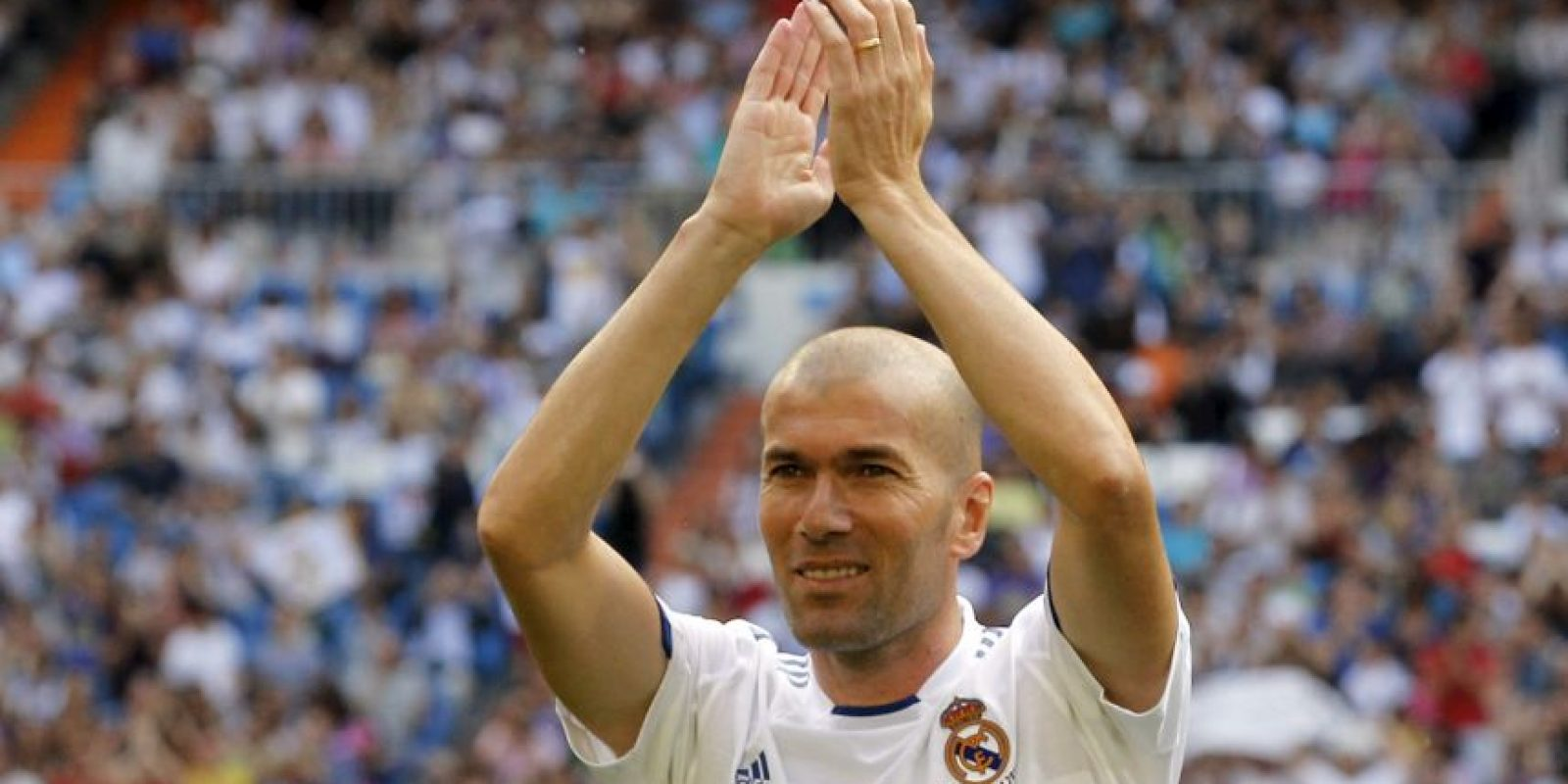 6. Zinedine Zidane Foto: Getty Images