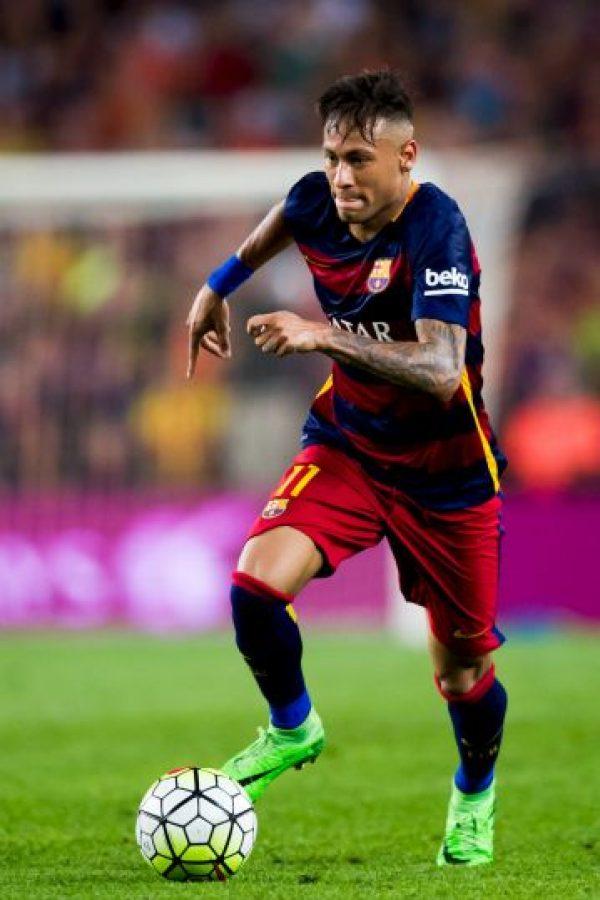 Barcelona dio 82.6 millones de euros al Santos de Brasil por el crack de ese país Foto:Getty Images