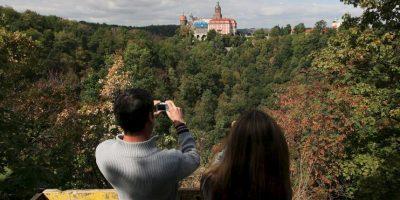 Turistas visitan la zona Foto:AP