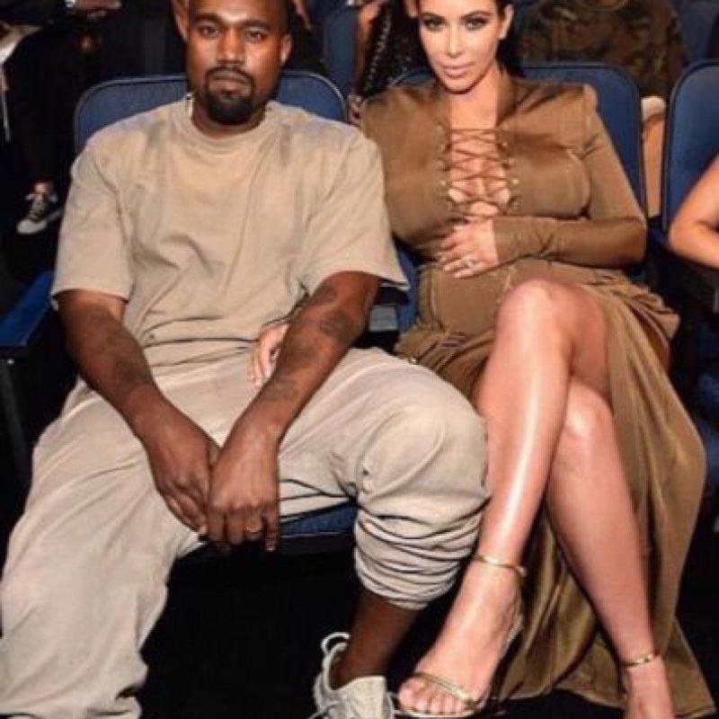 Por eso Kim Kardashian es la horma de su zapato. Foto:vía Getty Images