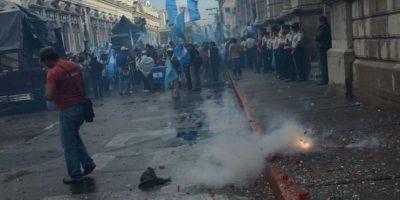 Fotos: Así celebran en Guatemala la remoción de la inmunidad de su presidente