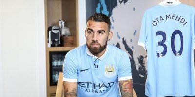 5. Nicolás Otamendi (Manchester City) = 44.6 millones de euros. Foto:Vía twitter.com/MCFC