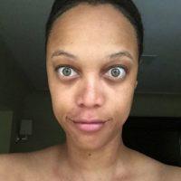 La modelo se mostró tal como es… sin embargo género gran polémica. Lo hizo en junio pasado Foto:Vía instagram.com/tyrabanks/
