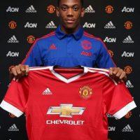 3. Anthony Martial (Manchester United) = 50 millones de euros. Foto:Vía instagram.com/manchesterunited