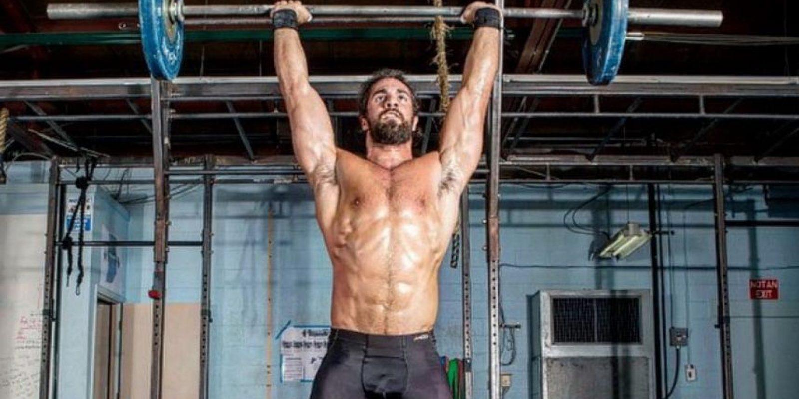 La exmujer de Rollins publicó una imagen del luchador desnudo Foto:Vía instgaram.com/wwerollins