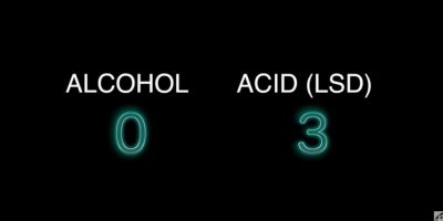 Video: Este es el reto LSD vs Alcohol