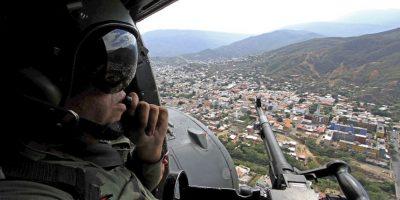Mientras, el presidente de Colombia Juan Manuel Santos ha amenazado con denunciar a Venezuela ante el Tribunal Penal Internacional. Foto:AFP