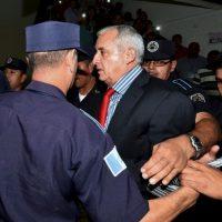 Su llegada en medio de un caos Foto:AFP