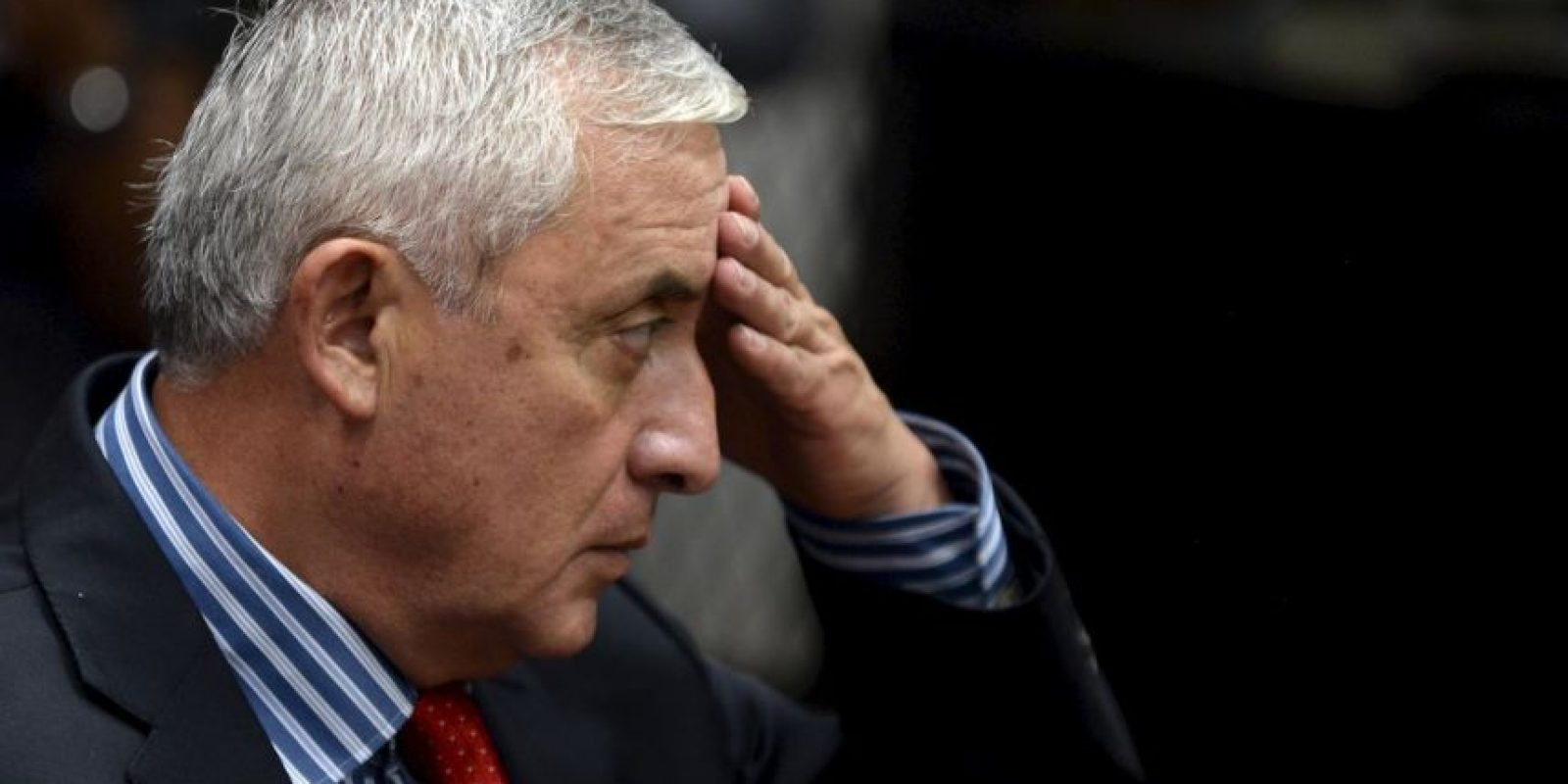 Otto Pérez Molina, dejó este 3 de septiembre su cargo. Foto:AFP