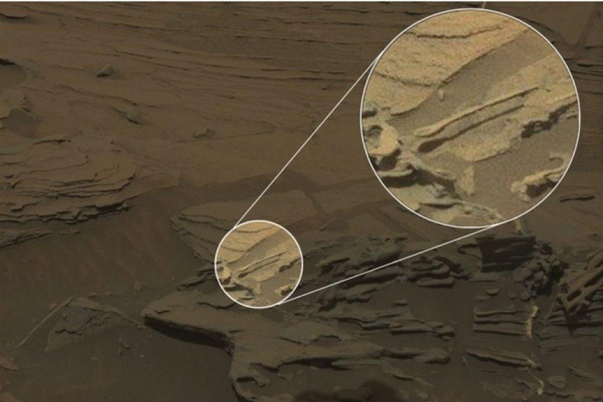 Esta imagen fue captada por el robot Curiosity Foto:NASA