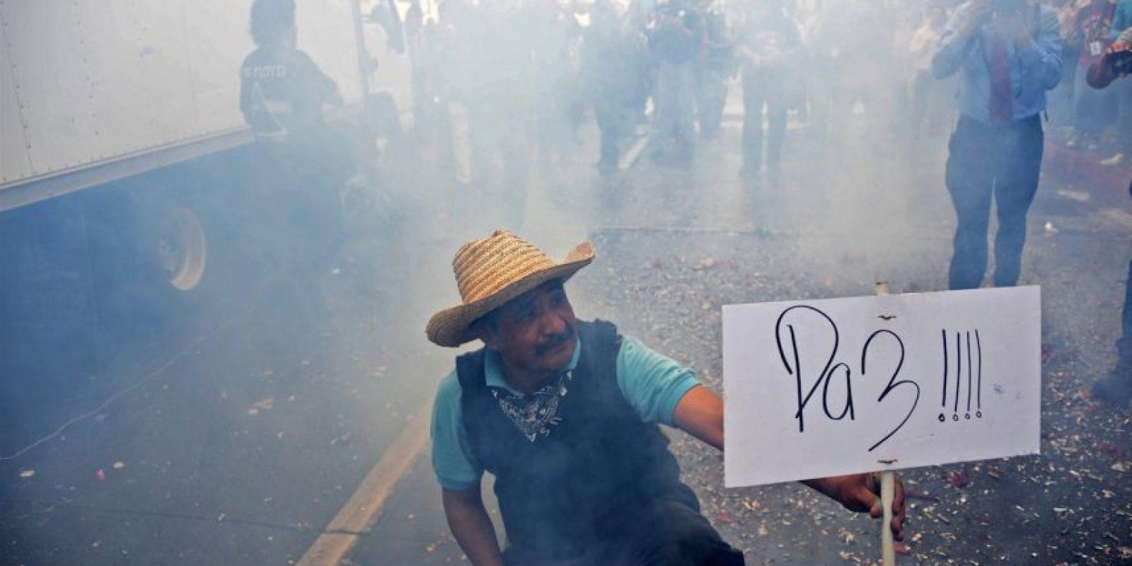 """""""Esto puede servir para que los gobernantes sepan que son ciudadanos que tienen poder por un periodo corto"""", añadió. Foto:AFP"""