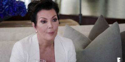 """Con lágrimas en los ojos, Kris le reclama a Caitlyn haber utilizado su matrimonio como una """"distracción"""". Foto:E! News"""