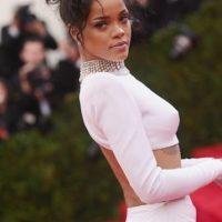 """""""¿Si hay gente que votaría por Donald Trump, por qué yo no podría votar por Kanye West?, comentó Rihanna en una entrevista con el portal Entertainment Tonight. Foto:Getty Images"""