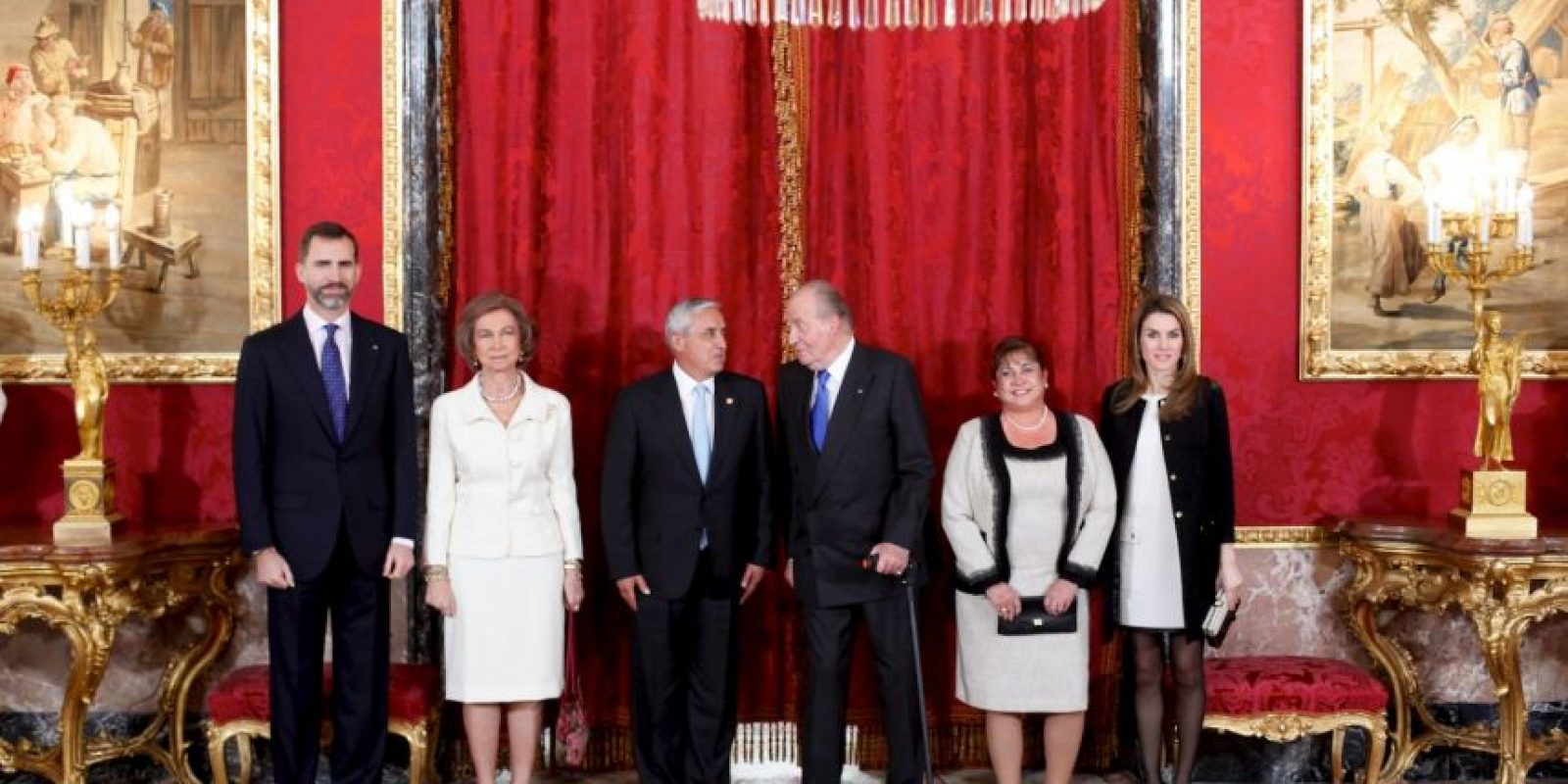 Así como los entonces Príncipes Felipe y Letizia Foto:Getty Images