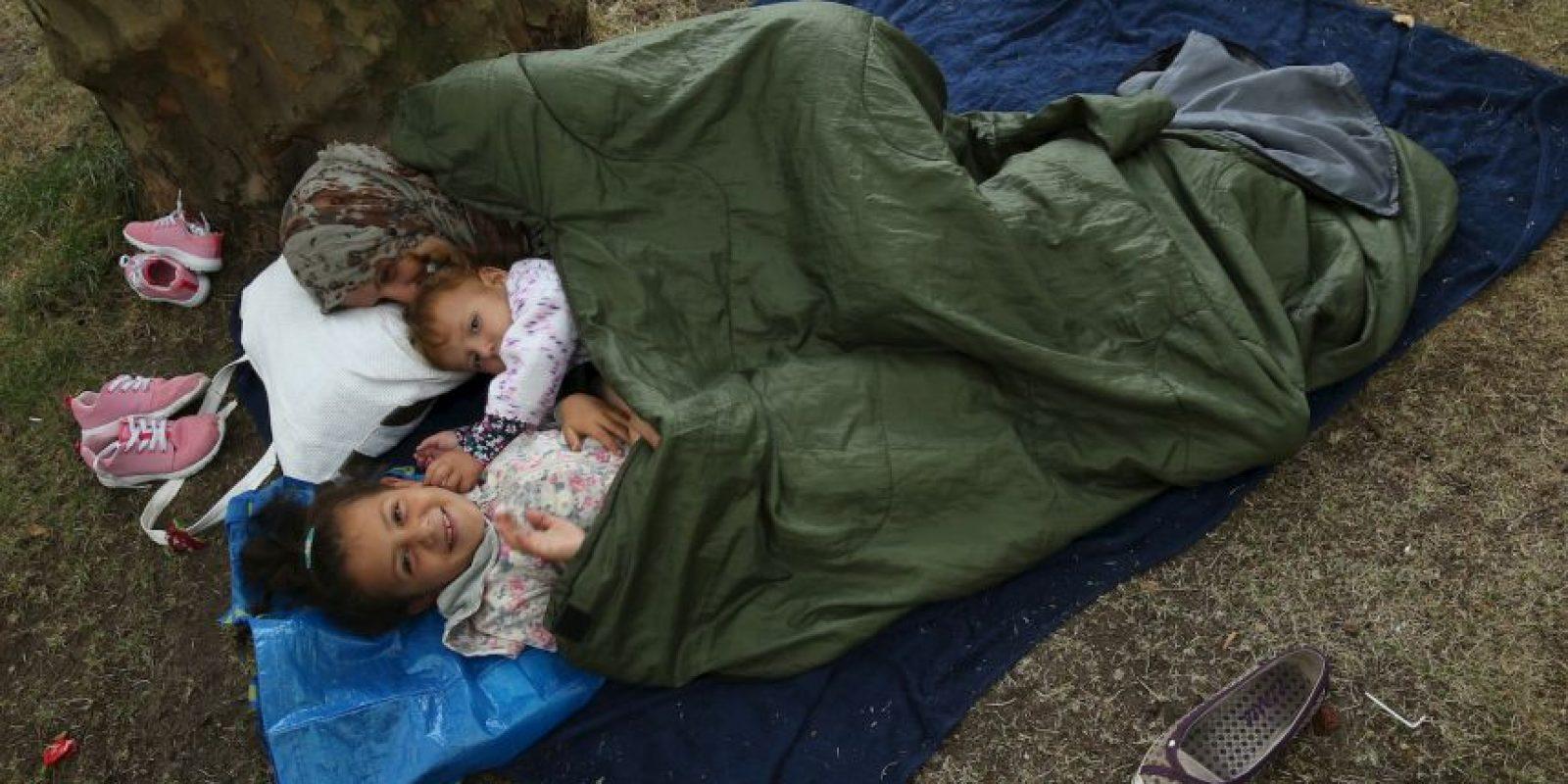 Inmigrantes que buscan asilo en Berlín. Foto:Getty Images