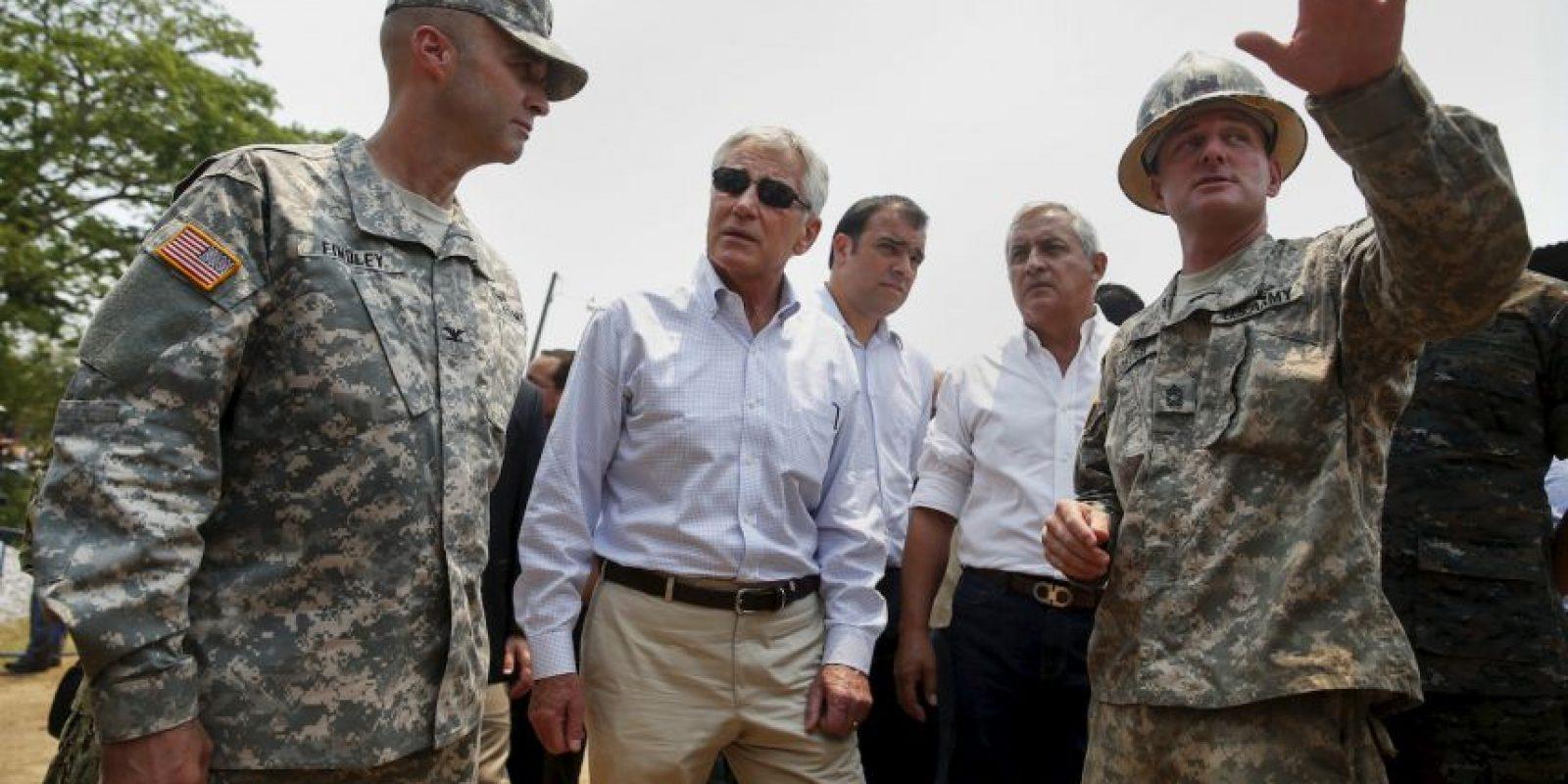 En abril de 2014, se reunió con el Secretario de Defensa de Estados Unidos, Chuck Hagel, quien estaba de visita en el país Foto:Getty Images