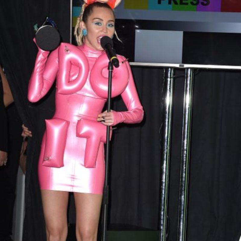 Y en los VMA`S no fue la excepción. Foto:vía Getty Images