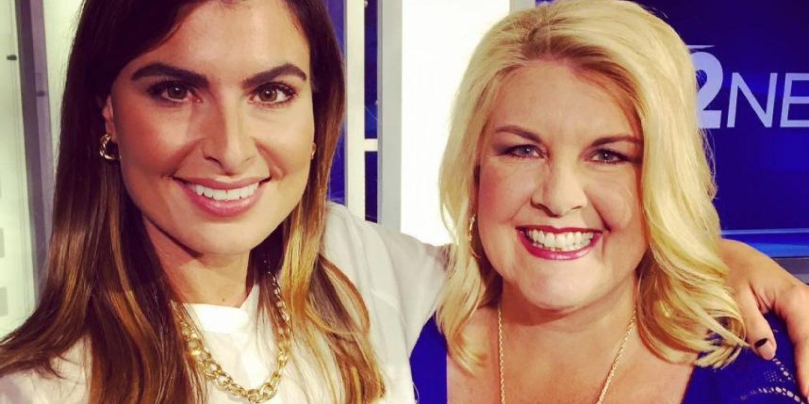 """Ella trabaja en Phoenix, en el noticiero """"12 News"""". Foto:vía Instagram/vanessaruiz"""