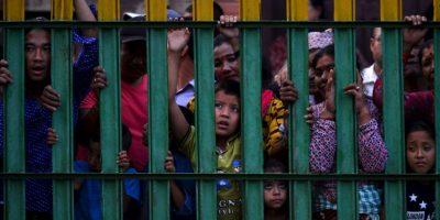 Festival religioso en Nepal. Foto:AFP