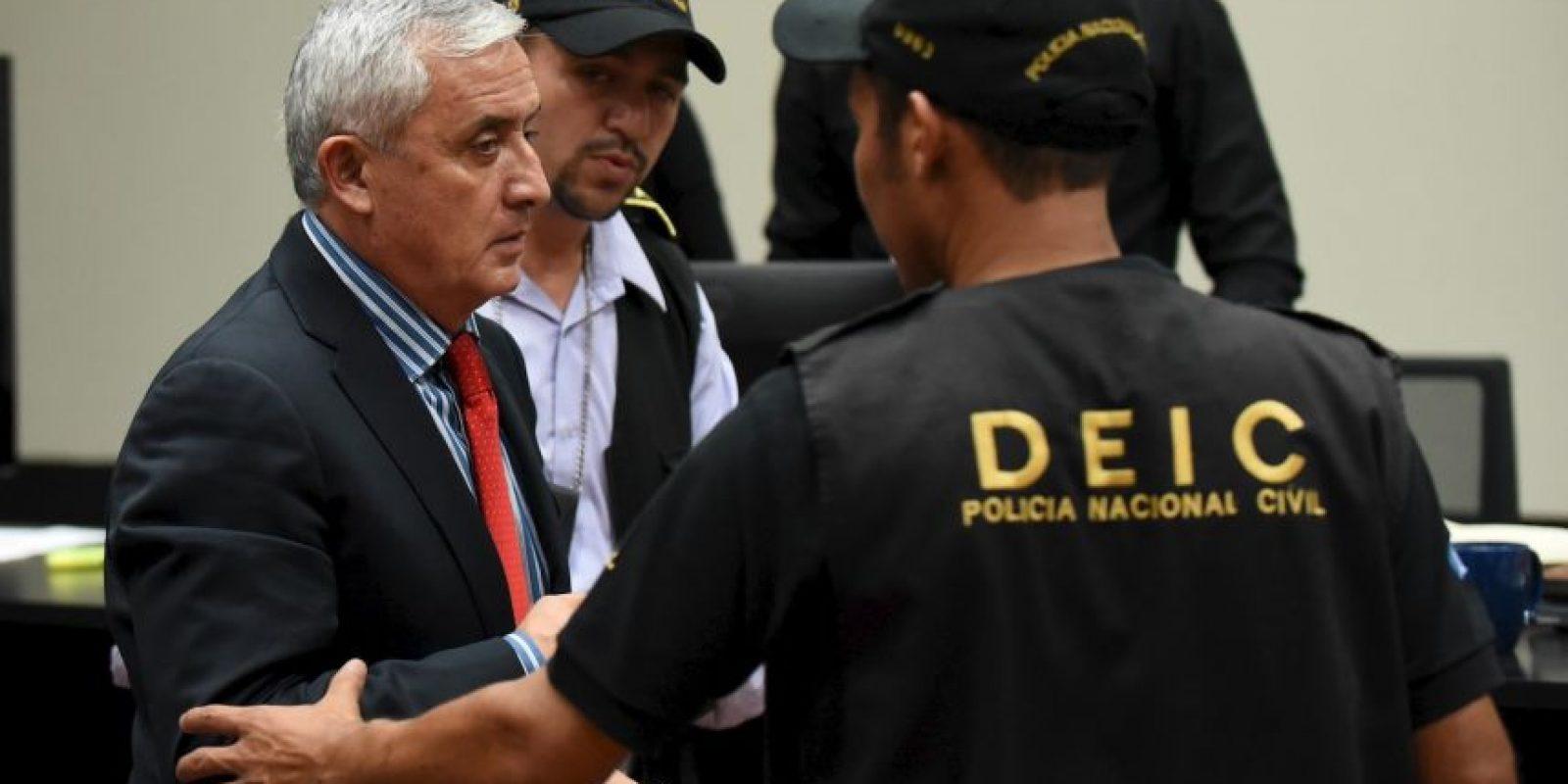 Esto sucedió el mismo día en que Otto Pérez Molina compareció ante la justicia Foto:AFP