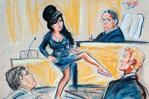 En 2009 fue acusada de agredir a una fanática. Foto:Dibujado por Priscila Coleman