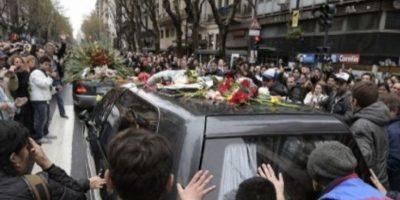 Falleció el 4 de septiembre de 2014 a casua de un paro respiratorio en la Clínica ALCLA de Buenos Aires. Foto:AFP