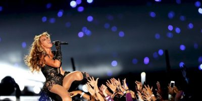 Su performance se convirtió en uno de los grandes favoritos del público. Foto:Getty Images