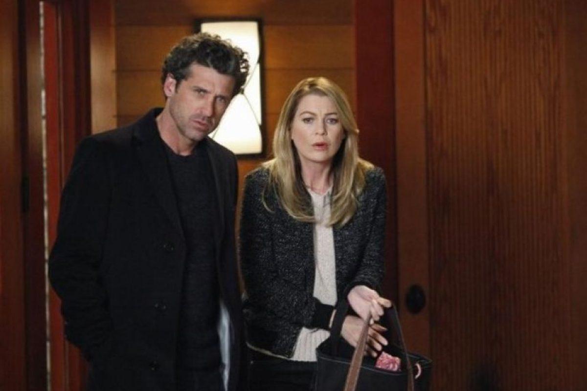 """Meredith Grey"" (Ellen Pompeo) y ""Derek Shepherd"" (Patrick Dempsey) Foto:IMDb"