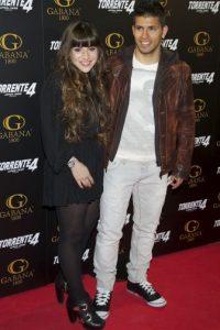 Y en 2011 con su entonces pareja, Giannina Maradona. Foto:Getty Images