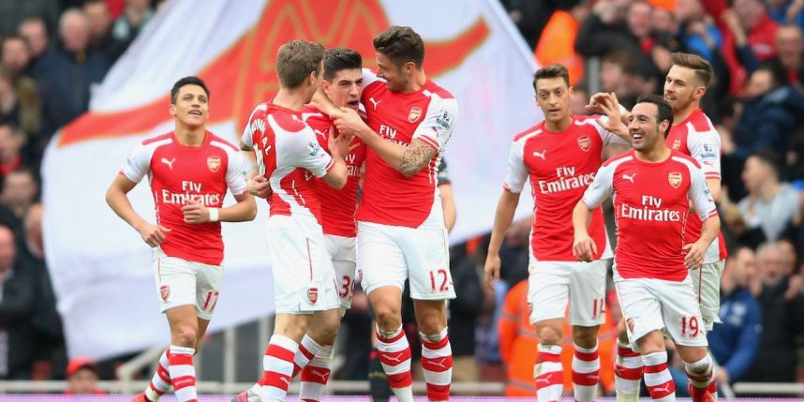 7. Arsenal (Inglaterra) / 402 millones de euros. Foto: Getty Images