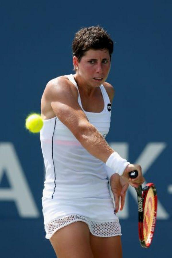 La décima clasificada del ranking ATP se despidió del US Open en la primera ronda, tras caer frente a la checa Denisa Allertova (77). Foto:Getty Images