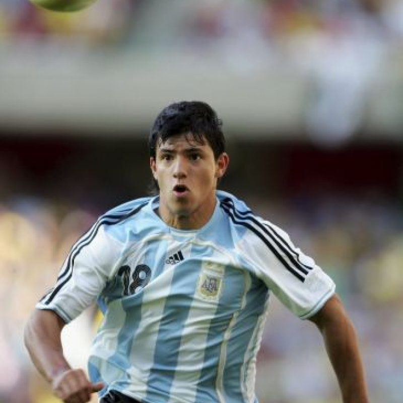 Así lucía en septiembre de 2006, durante un amistoso entre la Selección de Argentina y Brasil. Foto:Getty Images