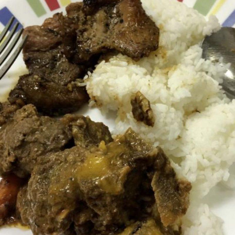 Para la cena volvía al arroz, que combinaba con pollo, carne de cerdo o ternera. Foto:Vía instagram.com/explore/tags/rice