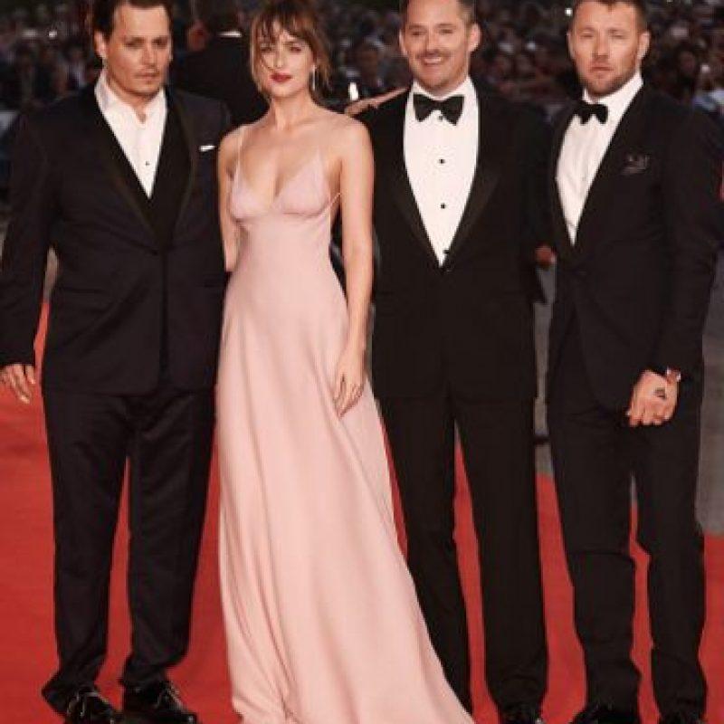 Y la película se supone que es su gran regreso. Foto:vía Getty Images