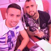 """El """"Rey Arturo"""" protagonizó el escándalo más grande de los primeros días de la Copa América 2015. Foto:Twitter.com/KingArturo23"""