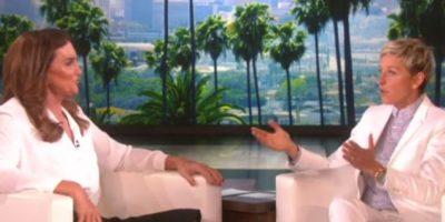 """Durante la entrevista, la presentadora cuestionó a Jenner sobre los matrimonios gay Foto:""""The Ellen Show"""""""
