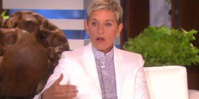 "Ellen DeGeneres fue la encargada de su debut. Foto:""The Ellen Show"""