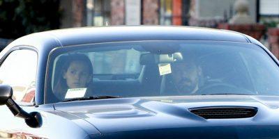 Los actores fueron captados saliendo de una sesión de terapia matrimonial en Los Ángeles. Foto:Grosby Group