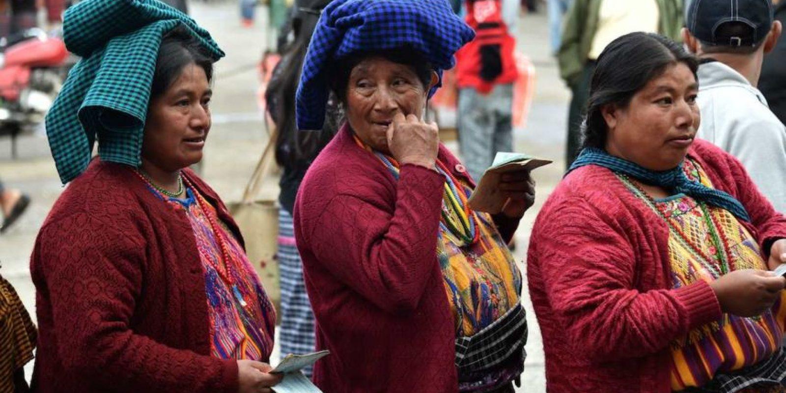 El proceso electoral sucede en medio del escándalo. Foto:AFP