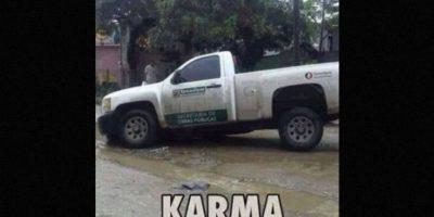 Karma instantáneo: Mujer recibió