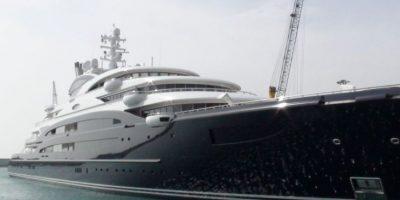 The Serene es una de las embarcaciones privadas más grandes del mundo con sus 133 metros de largo. Foto:flickr.com
