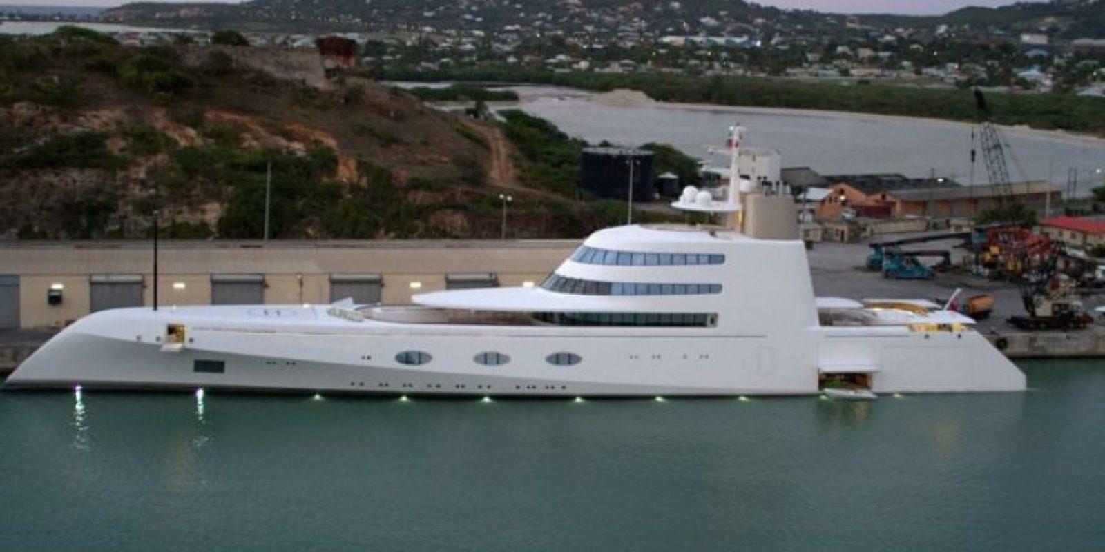 """Sin embargo, tiene otro yate llamado """"Motor Yacht A"""", actualmente muy reconocido en el mundo naviero. Foto:Wikimedia Commons"""