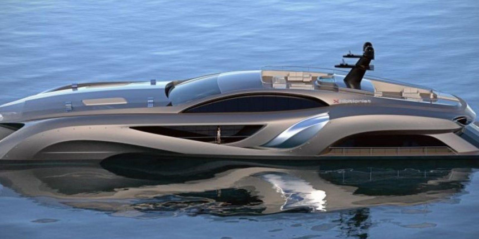 Fue diseñado por el suizo Eduard Gray y está valuado en dos y medio millones de dólares. Foto:Graydesign.se