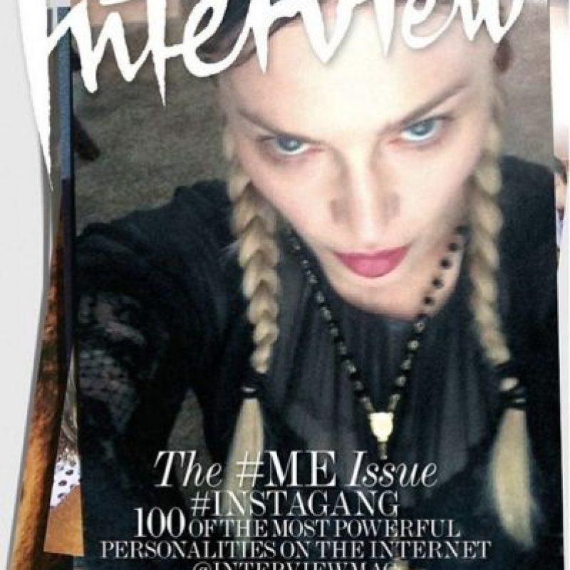 "Madonna Foto: ""Interview Magazine"""