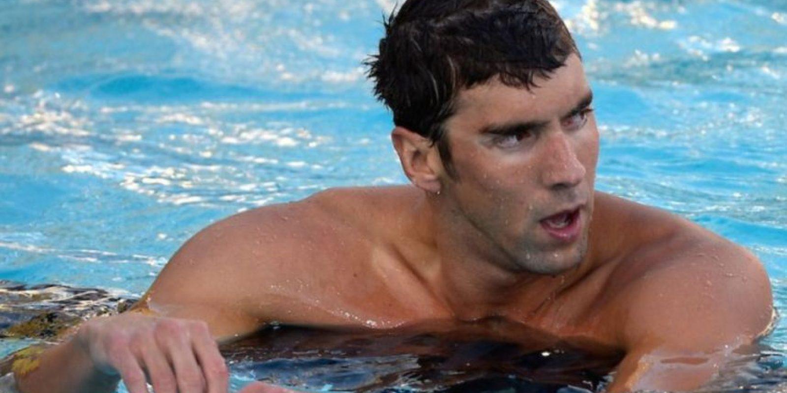 4- Michael Phelps, nadador y multimedallista olímpico estadounidense. Foto:Getty Images